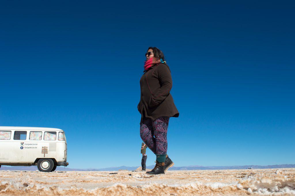 deserto de sal no norte da argentina