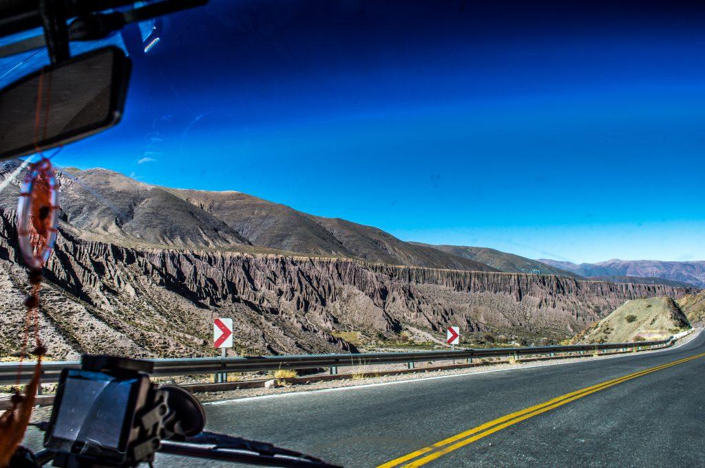 estrada na Argentina